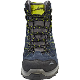 High Colorado Gaebris Mid High Tex Zapatillas de senderismo Hombre, blue/lime